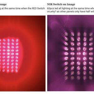 forskellen på nær og fjernt infrarødt lys kan være svært at forstå, men den ses tydeligt